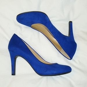 Kelly and Katie cobalt blue Pumps